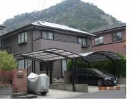 霧島市隼人町M様邸 外壁・屋根塗装 外壁スタジオ滝の神